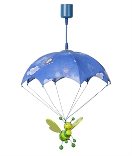 Childrens Parachute Bee Pendant  - Two Colours