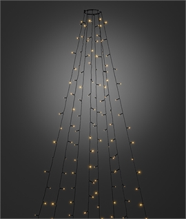 Christmas Tree 8 String LED Light Set