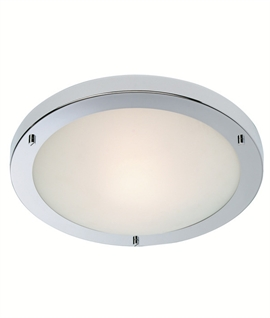 Basic flush light fittings lighting styles simple flush ceiling light with choice of lamp types mozeypictures Choice Image