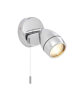 Chrome Single Adjustable Spot Light