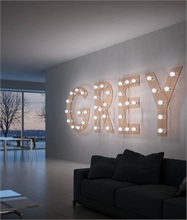 Giant Illuminated Letters – Great for Display