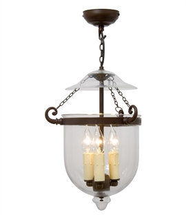 Smaller 3 Light Georgian Hanging Lantern