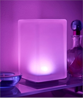 Colour Changing Luxury Table Lamp - Wirelessly Rechargeable