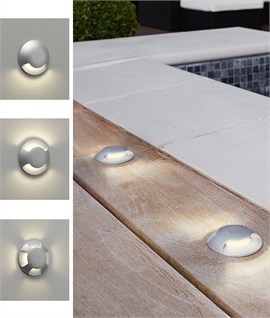 Miniature LED Wash Light - Use in Walls or Floor Inside or Out