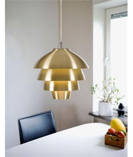 Scandinavian lights lighting styles the lighting specialists metal layered pendant dia 420mm aloadofball Images