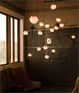 Bocci Copper Mesh & Glass LED Pendant