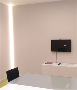 Led mood lighting for walls lighting styles recessed reveal lighting profile aloadofball Image collections