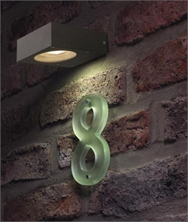 Small Square GX53 Exterior Wall Light