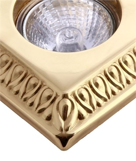 Square Embossed Pattern Downlight