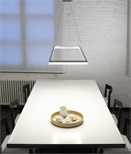 Oblong Ring LED Pendant Dimmable