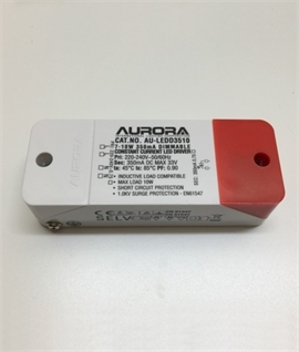 350mA 10w Dimmable Constant Current LED Driver