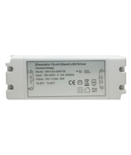 Dimmable 25w 12v LED Driver