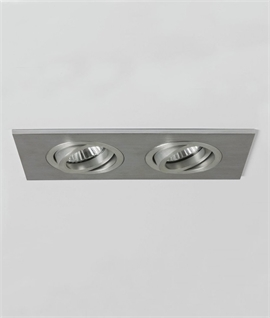 Fire Rated Twin Adjustable Interior Downlight