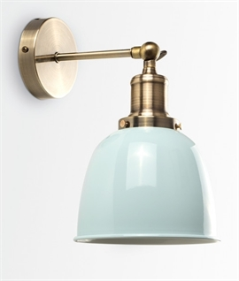 Adjustable Antique Brass Wall Light - 5 Finishes