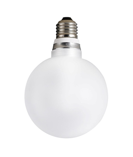 E27 5w LED Frosted Globe Lamp - 100mm Diameter