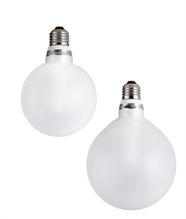 E27 5w LED Frosted Globe Lamp - Two Sizes