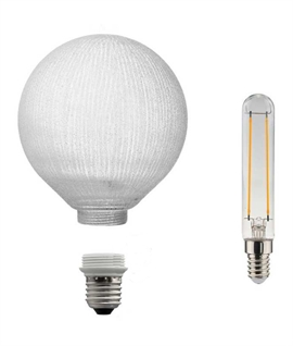 Modular E27 5w LED Globe Lamp & Line Detail