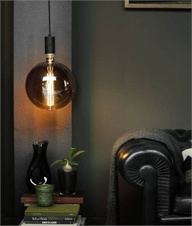 E27 Jumbo Globe Lamp 8 Watt LED Filament