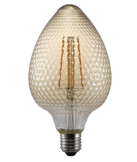 Designer E27 2w LED Filament Lamp - Pinecone