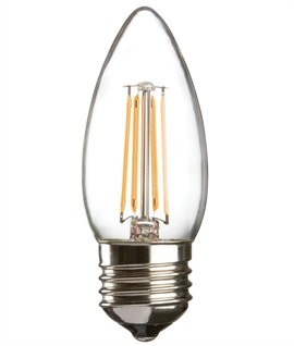 E27 4w LED Filament Candle Lamp