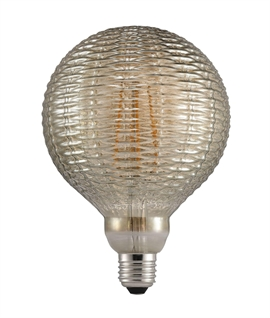 Designer E27 2w LED Globe Lamp - Basket Weave