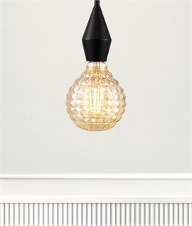Designer E27 2w LED Globe Lamp - Pineapple