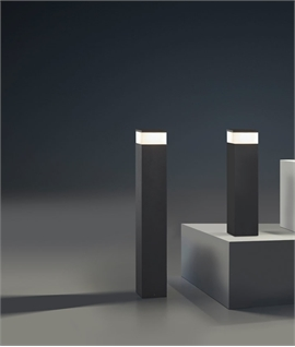 Cubic Outdoor Bollard - 600mm or 900mm