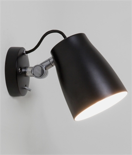 Single Adjustable Spotlight with Rocker Switch