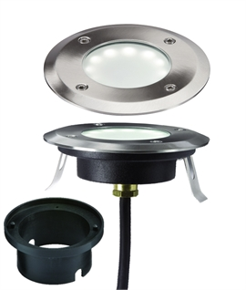 Super Shallow Recessed LED Ground Light