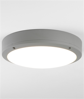 Corrosion Resistant Round LED Bulkhead Light - Wall or Ceiling