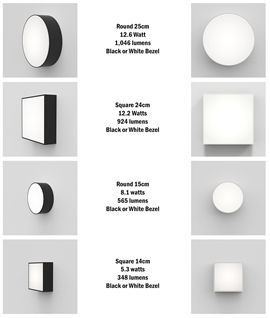 Corrosion Resistant LED Bulkhead Light - Wall or Ceiling