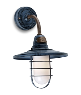 On Trend Vintage Style Wall Lantern