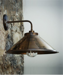Great Period Bracket Wall Light - 6 Finishes