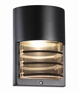 Exterior IP44 Rated Wall Light - Grill Detail