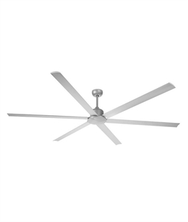 Extra Large Six Blade Grey Fan - Remote Controlled