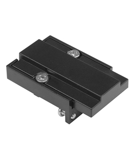 Slimline Black LED Track Feed-In