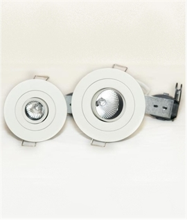 Low Glare Adjustable Fire Rated Downlight