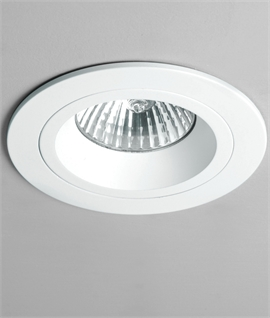 Fixed Round Mains Downlight