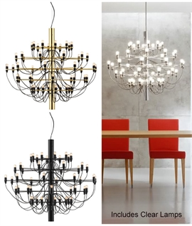 2097 Light - 50 Arm Chandelier by Flos
