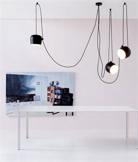 Aim Small - The Offset Pendant by Flos