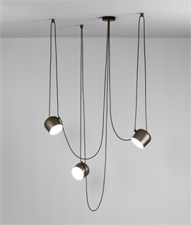 Aim - The Larger Offset Pendant by Flos
