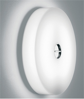A Bright Button Light that Packs a Punch from Flos