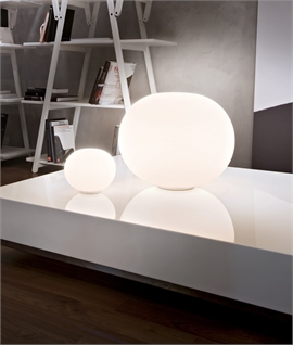 Dimmable Glo-Ball Basic Table Lamp by Flos