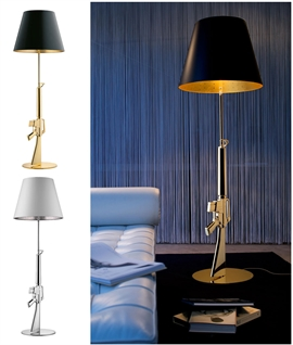 Guns Lounge Floor Lamp by Philippe Starck for Flos