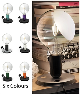 Lampadina Table Lamp in 6 Colours by Flos