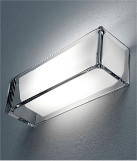 On the Rocks - A Glass Dimmable Uplight from Flos