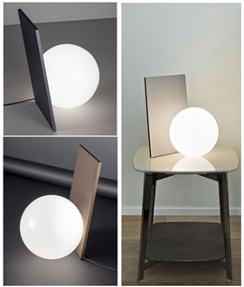 Extra T Table Lamp from Flos - Bronze or Graphite