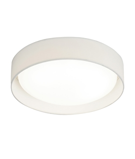 Flush Ceiling LED Light with Opal Domed Diffuser