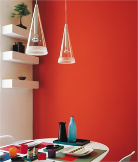 Fucsia 1 Suspension Glass Pendant by Flos
