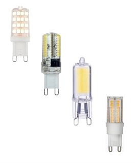 G9 LED Lamp - Various Wattages